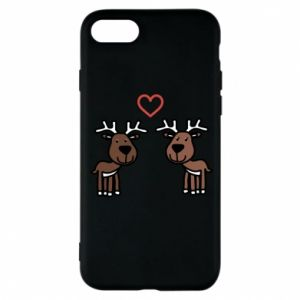 Phone case for iPhone 8 Deer in love