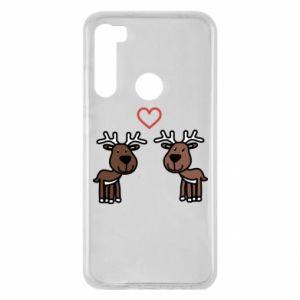 Xiaomi Redmi Note 8 Case Deer in love