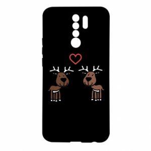 Xiaomi Redmi 9 Case Deer in love