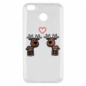 Xiaomi Redmi 4X Case Deer in love