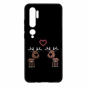 Xiaomi Mi Note 10 Case Deer in love