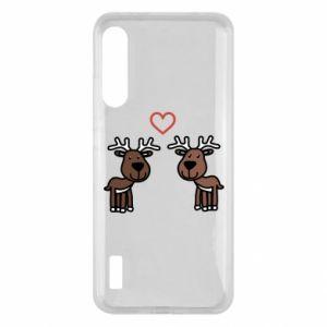 Xiaomi Mi A3 Case Deer in love