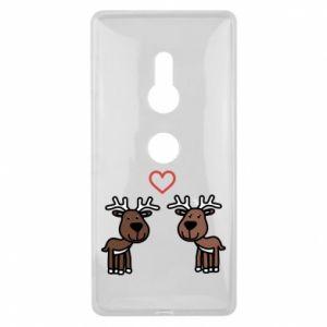 Sony Xperia XZ2 Case Deer in love