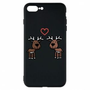 Phone case for iPhone 8 Plus Deer in love