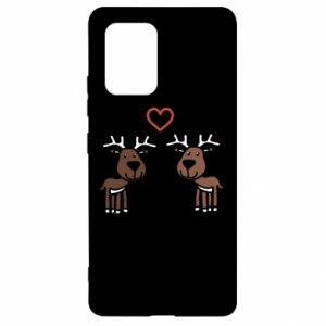 Samsung S10 Lite Case Deer in love