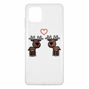 Samsung Note 10 Lite Case Deer in love