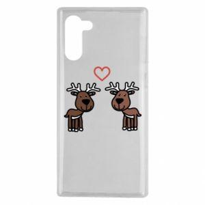 Samsung Note 10 Case Deer in love