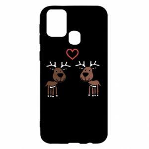 Samsung M31 Case Deer in love