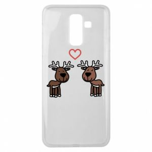 Samsung J8 2018 Case Deer in love