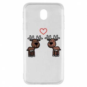 Samsung J7 2017 Case Deer in love