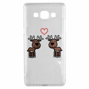 Samsung A5 2015 Case Deer in love