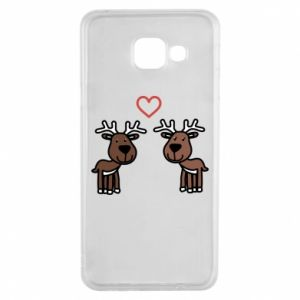 Samsung A3 2016 Case Deer in love