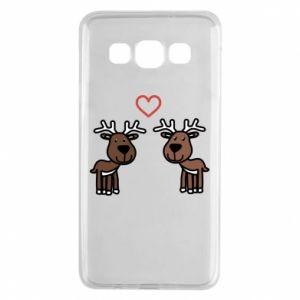 Samsung A3 2015 Case Deer in love