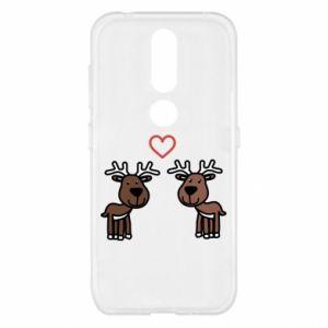 Nokia 4.2 Case Deer in love