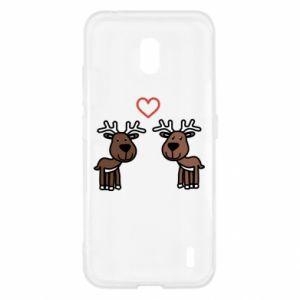 Nokia 2.2 Case Deer in love