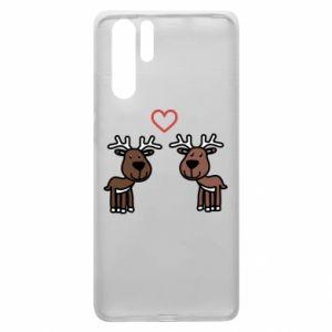 Huawei P30 Pro Case Deer in love