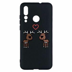 Huawei Nova 4 Case Deer in love