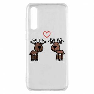 Huawei P20 Pro Case Deer in love