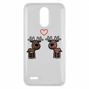 Lg K10 2017 Case Deer in love