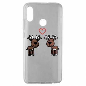 Huawei Honor 10 Lite Case Deer in love