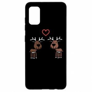 Samsung A41 Case Deer in love