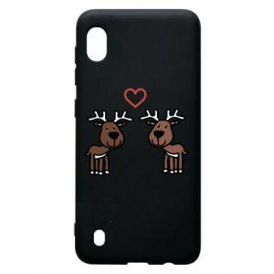 Samsung A10 Case Deer in love