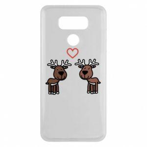 LG G6 Case Deer in love