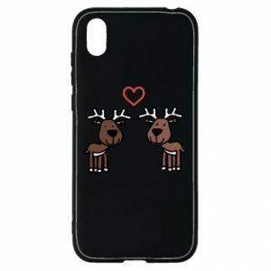 Huawei Y5 2019 Case Deer in love