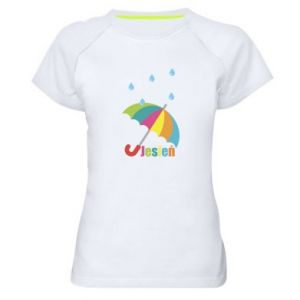 Women's sports t-shirt Autumn!