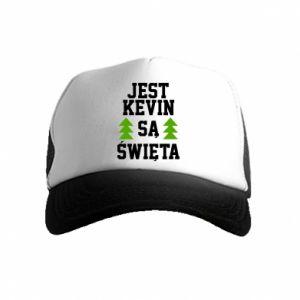Czapka trucker dziecięca Jest Kevin są Święta