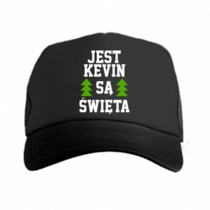 Trucker hat It's Kevin. it's Christmas.