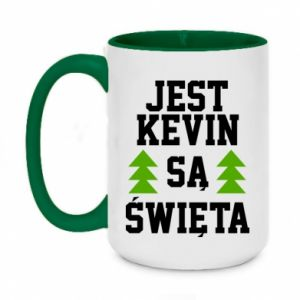 Two-toned mug 450ml It's Kevin. it's Christmas.