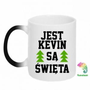 Kubek-magiczny Jest Kevin są Święta