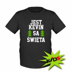 Dziecięcy T-shirt Jest Kevin są Święta