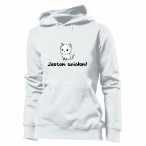 Women's hoodies I'm an angel! Or the devil ... - PrintSalon
