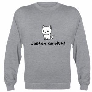 Sweatshirt I'm an angel! Or the devil ... - PrintSalon