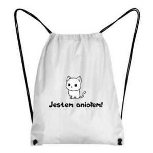 Backpack-bag I'm an angel! Or the devil ... - PrintSalon