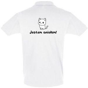 Men's Polo shirt I'm an angel! Or the devil ... - PrintSalon