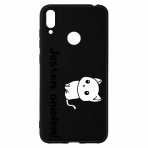 Huawei Y7 2019 Case I'm an angel! Or the devil ...