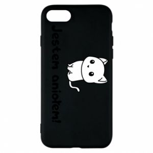 Phone case for iPhone 8 I'm an angel! Or the devil ... - PrintSalon