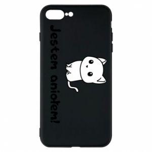 Etui na iPhone 8 Plus Jestem aniołem! Albo diabłem ...