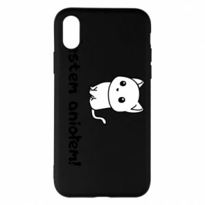 Phone case for iPhone X/Xs I'm an angel! Or the devil ... - PrintSalon