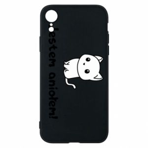 Phone case for iPhone XR I'm an angel! Or the devil ... - PrintSalon