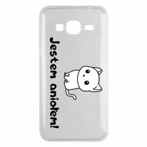Phone case for Samsung J3 2016 I'm an angel! Or the devil ... - PrintSalon