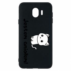 Phone case for Samsung J4 I'm an angel! Or the devil ... - PrintSalon