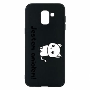 Phone case for Samsung J6 I'm an angel! Or the devil ... - PrintSalon