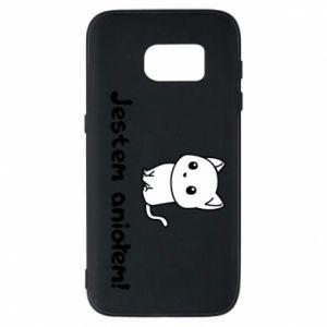 Phone case for Samsung S7 I'm an angel! Or the devil ... - PrintSalon