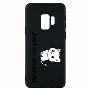 Phone case for Samsung S9 I'm an angel! Or the devil ... - PrintSalon