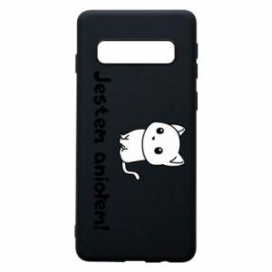Phone case for Samsung S10 I'm an angel! Or the devil ... - PrintSalon