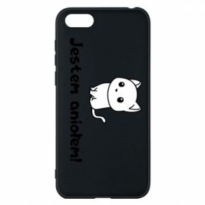 Phone case for Huawei Y5 2018 I'm an angel! Or the devil ... - PrintSalon
